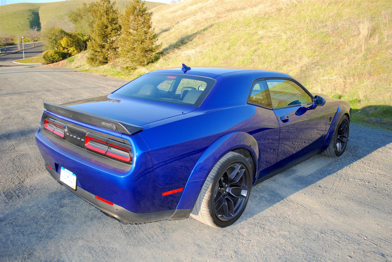 2019 Dodge Challenger SRT Hellcat Redeye 3/4 rear