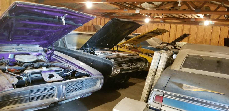 VanDerBrink Auctions purple charger barn find
