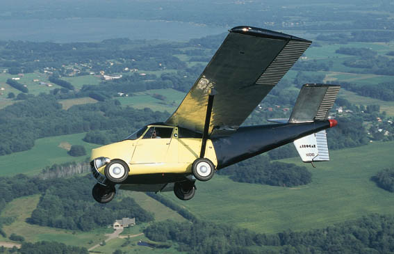 1954 Aerocar One flying