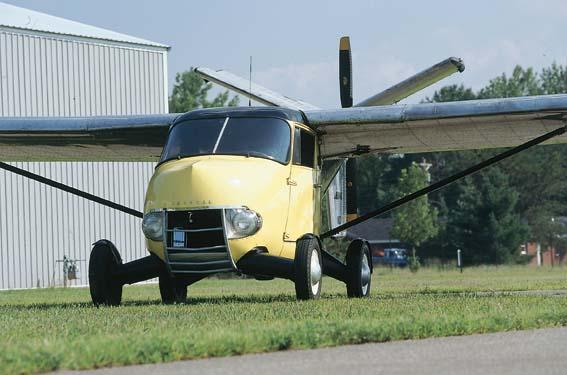 1954 Aerocar One on the ground