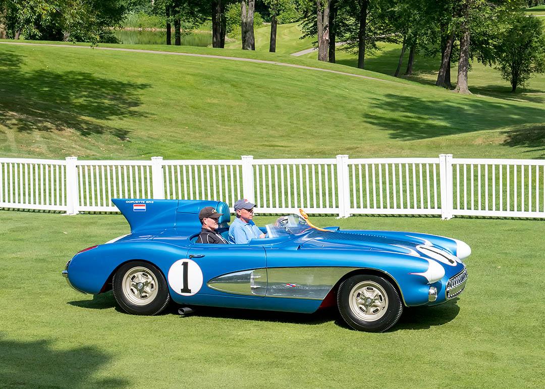 Corvette SR-2 profile