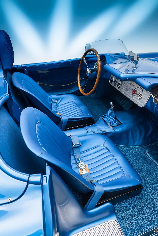 1956 SR-2 interior
