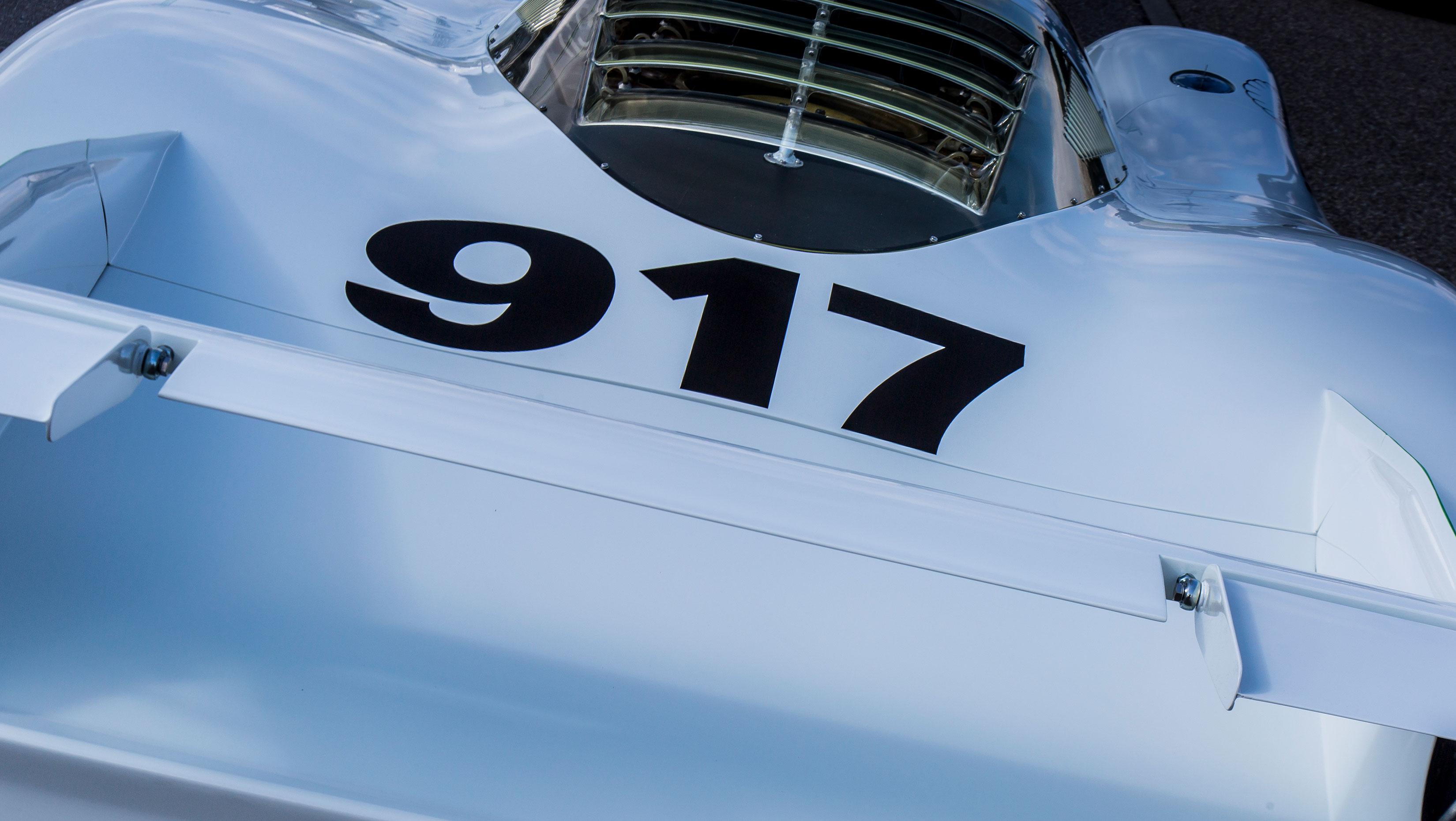 Porsche 917 paint