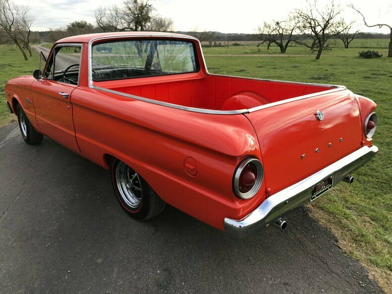 1963 Ford Ranchero rear 3/4