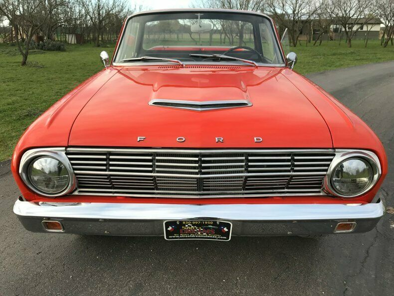 1963 Ford Ranchero front