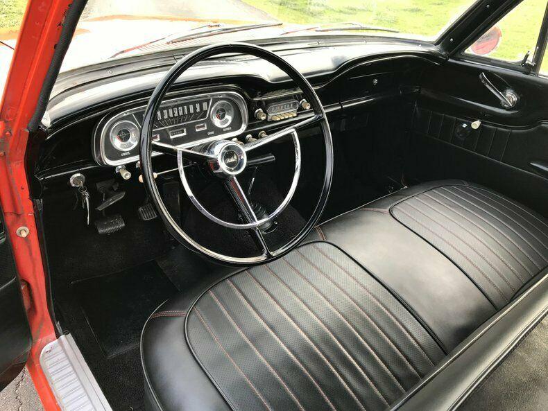 1963 Ford Ranchero interior