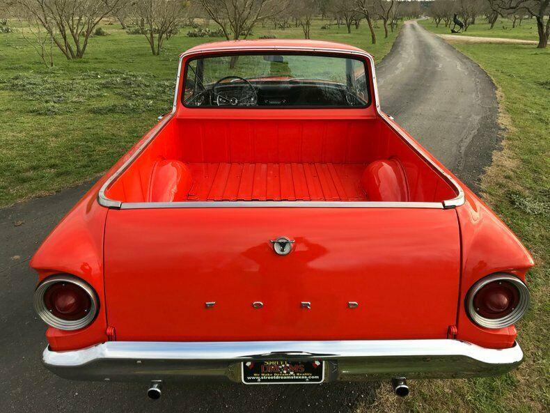 1963 Ford Ranchero rear