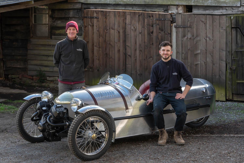 Pembleton V-Sport Phil Gregory and son Guy