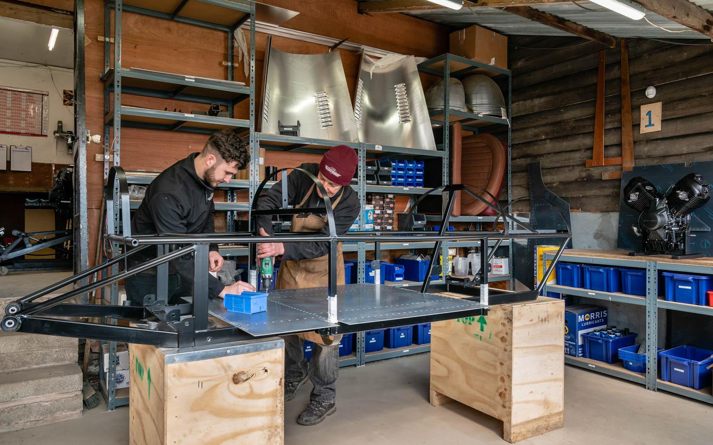 Working on the Pembleton V-Sport