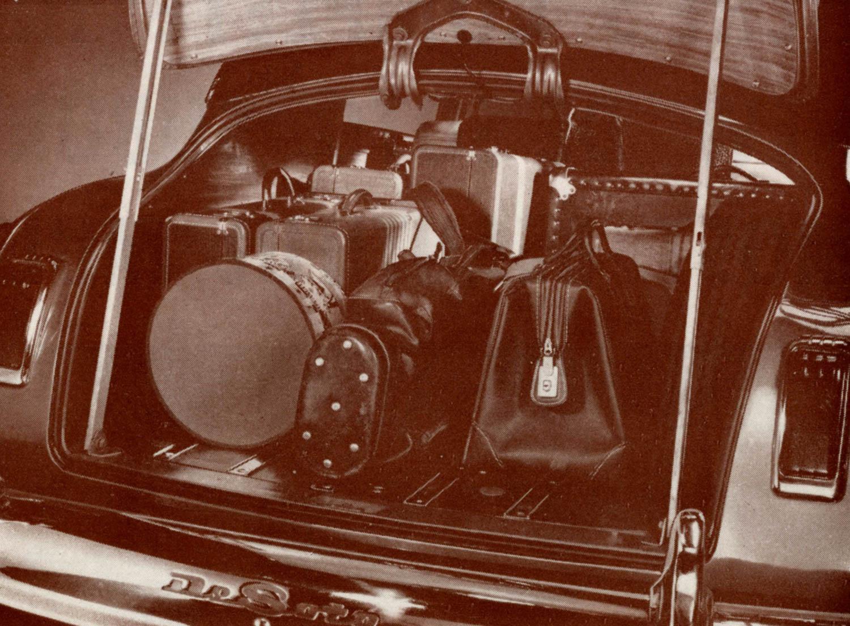 DeSoto Suburban Station Wagon trunk full