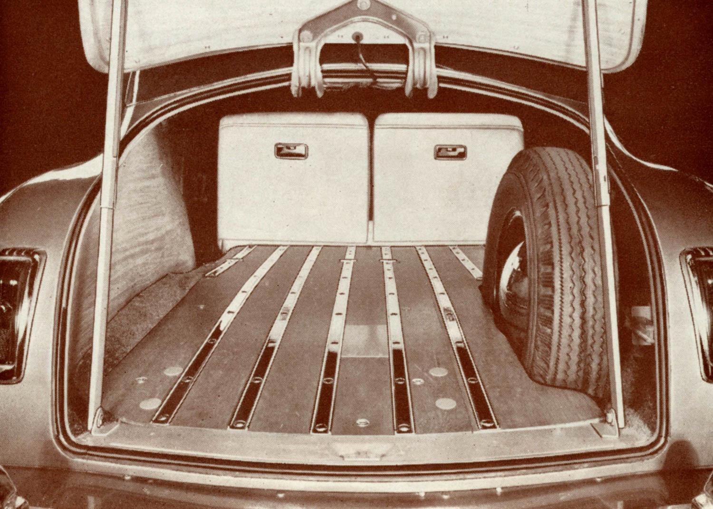 DeSoto Suburban Station Wagon trunk