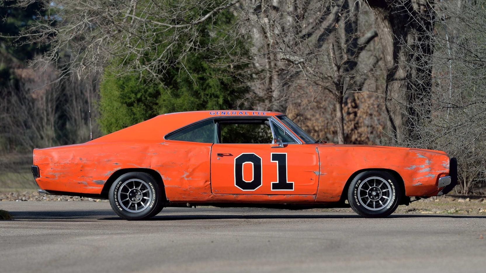 1969 Dodge Charger General Lee Stunt Car profile