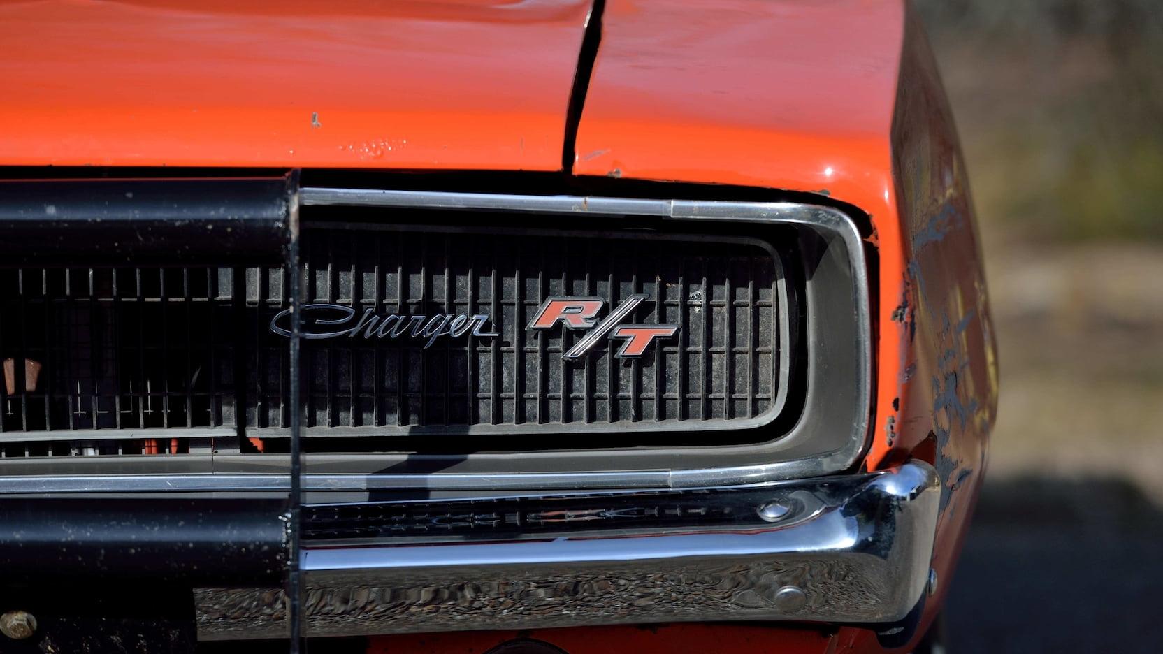 1969 Dodge Charger General Lee Stunt Car grille