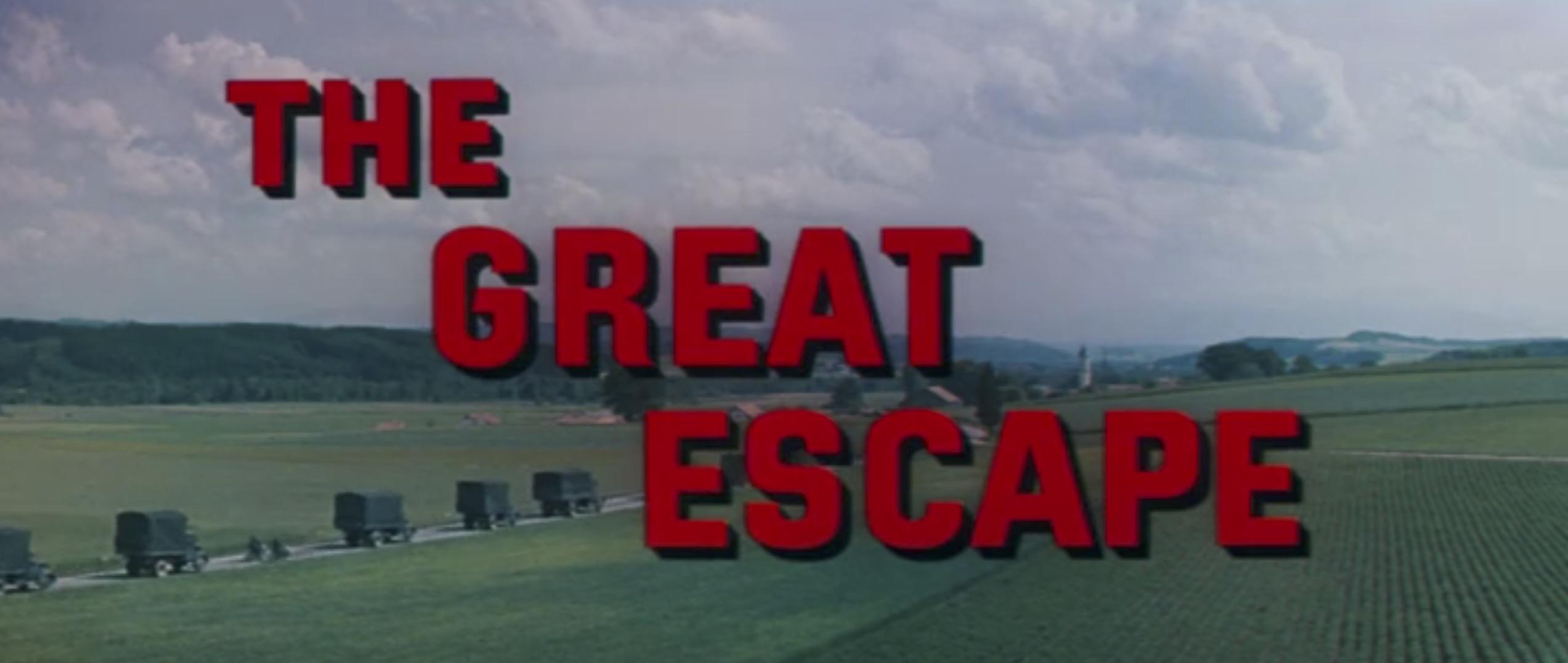 The Great Escape title screen