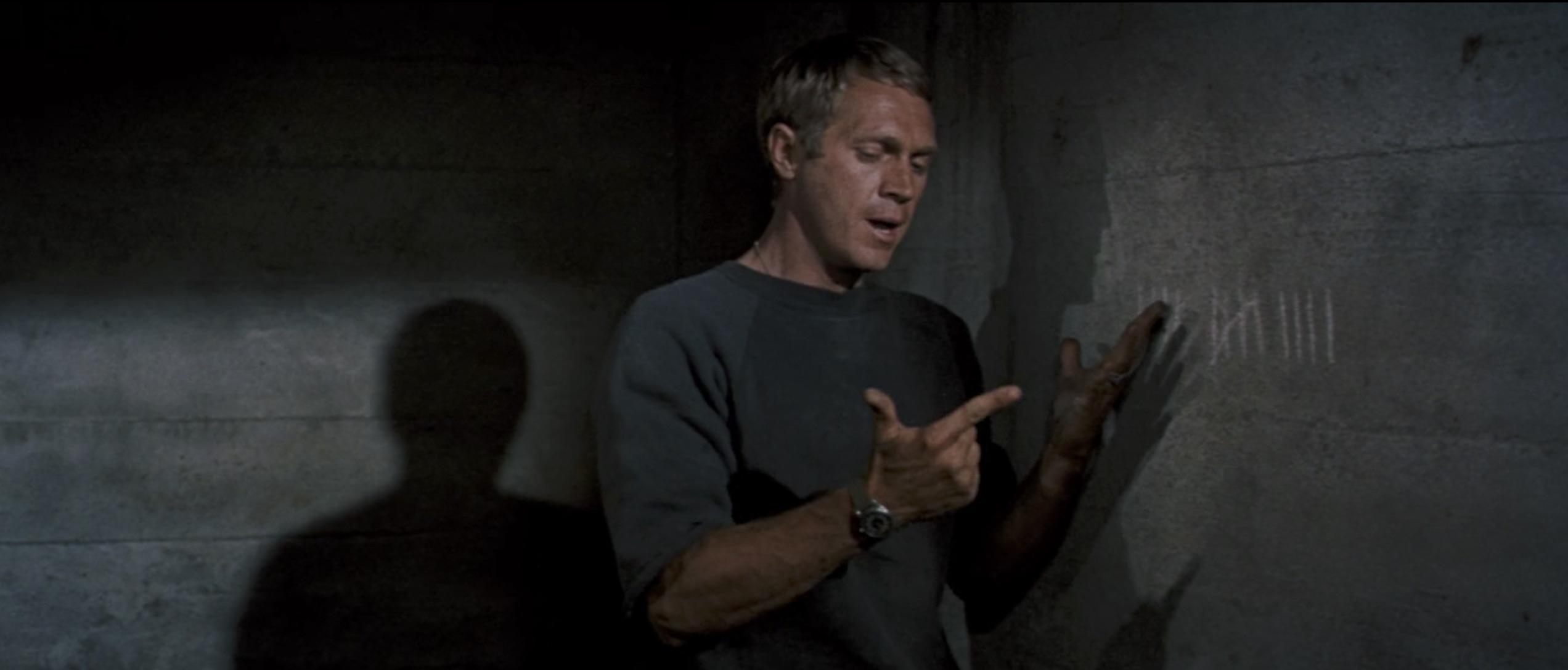 The Great Escape steve mcqueen in jail