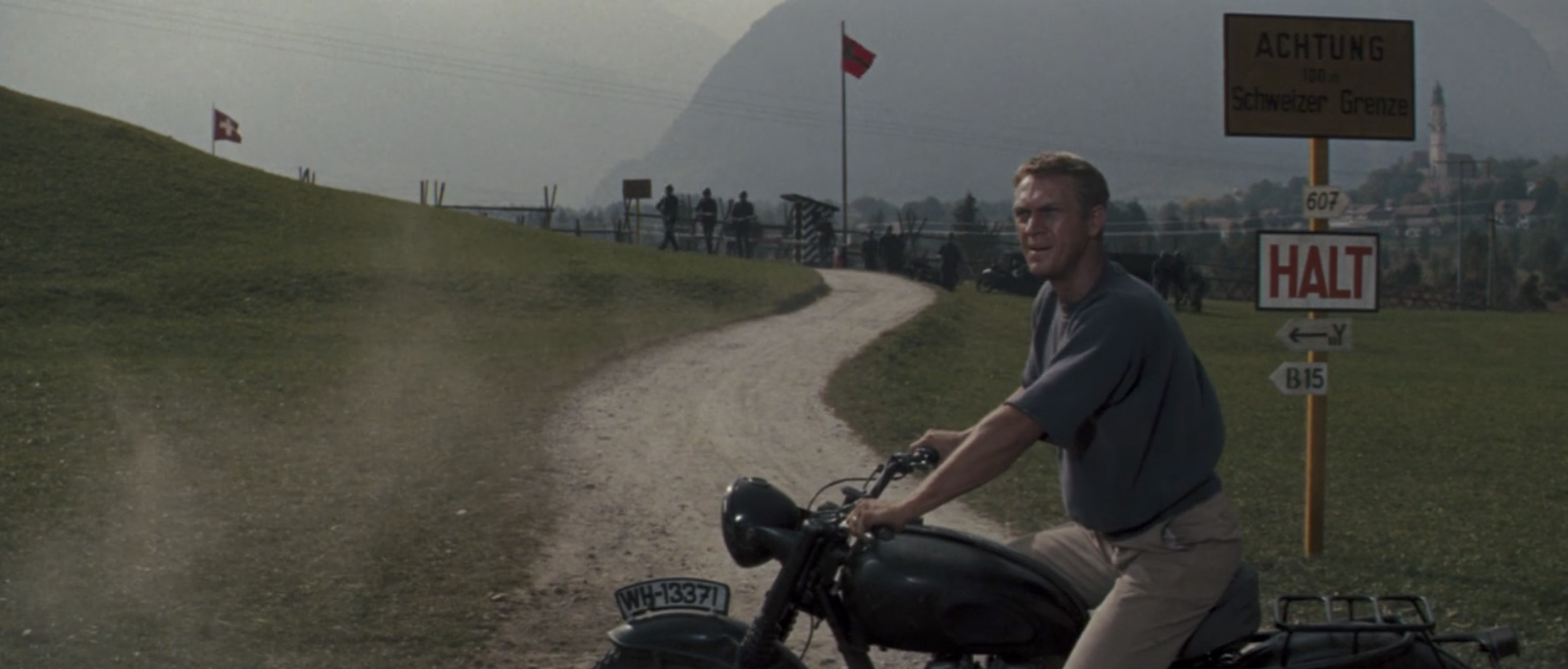 The Great Escape steve mcqueen checkpoint