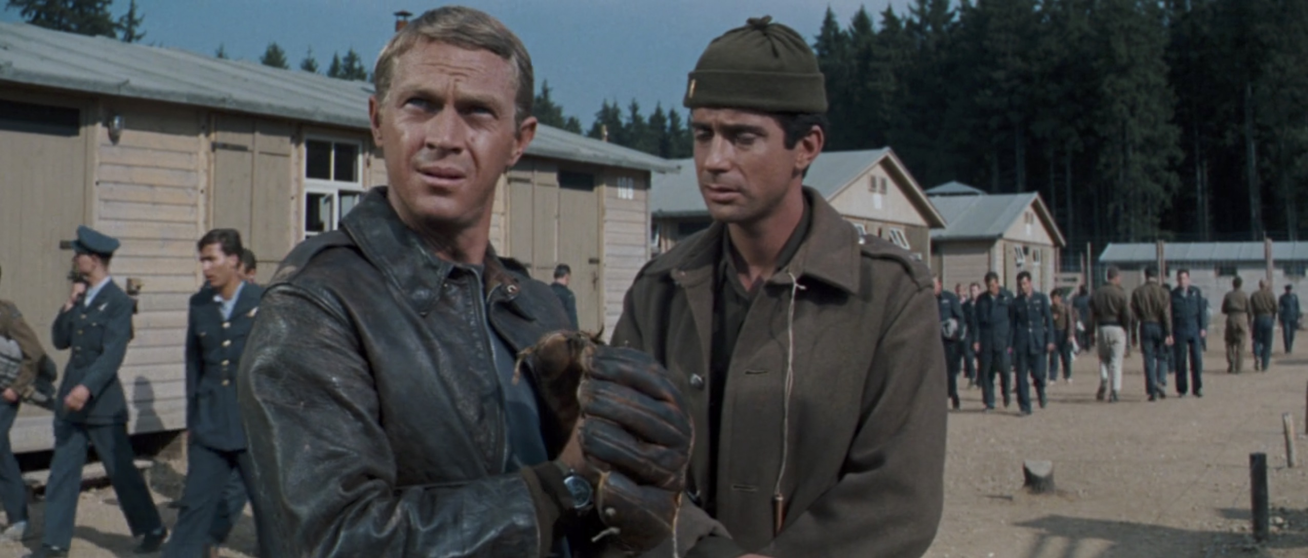 The Great Escape Steve mcqueen leather jacket