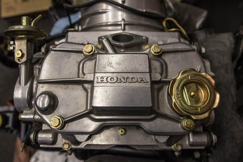 Honda N600 engine detail