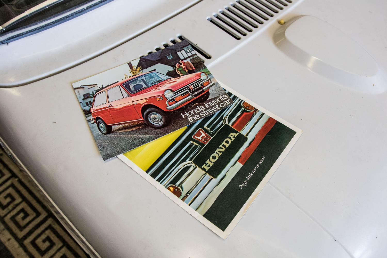 Honda N600 brochure