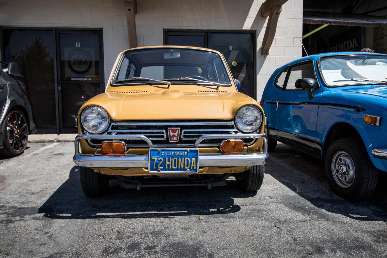 Honda N600 front