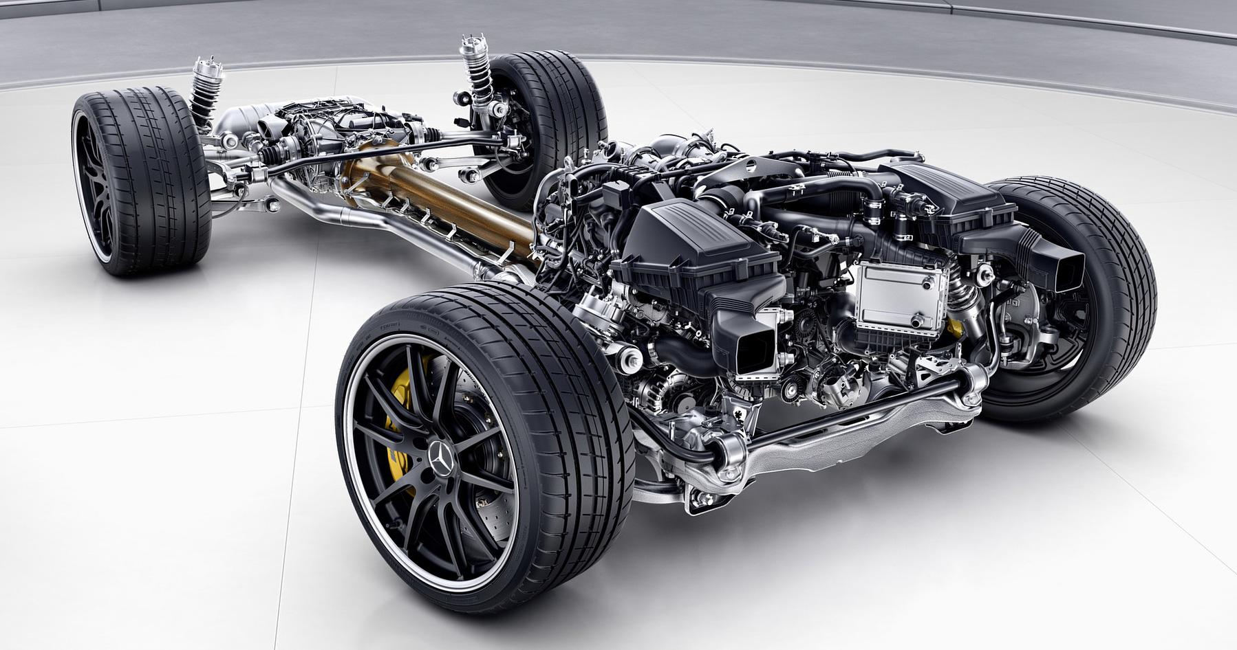 AMG GT Drivetrain