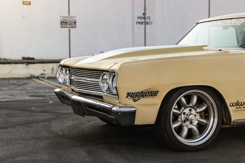 1965 Chevrolet EL Camino front quarter panel