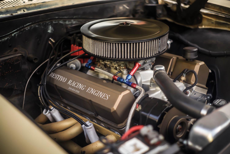 1965 Chevrolet EL Camino engine