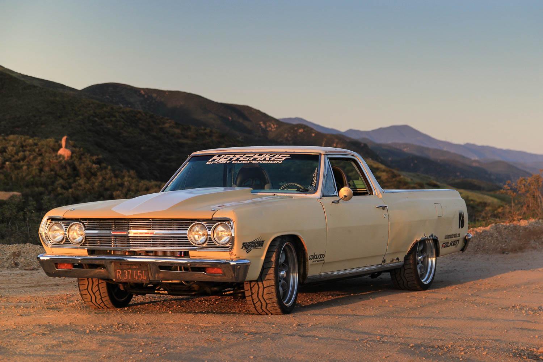 1965 Chevrolet EL Camino front 3/4