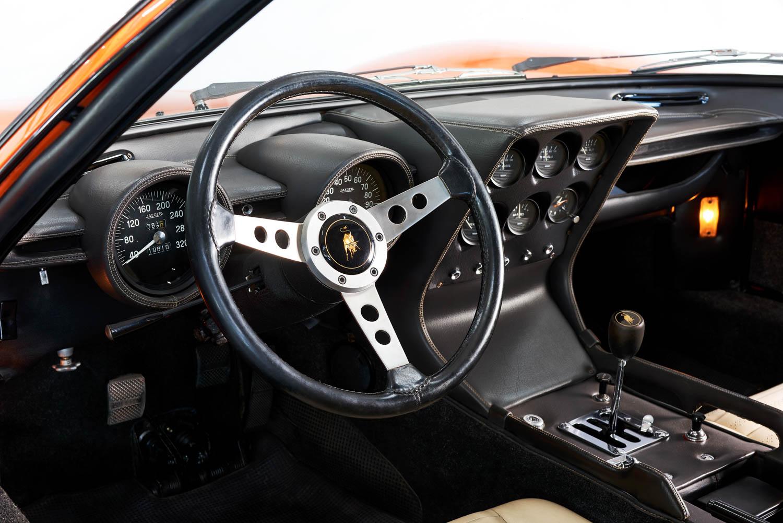 Lamborghini Miura P400 steering wheel