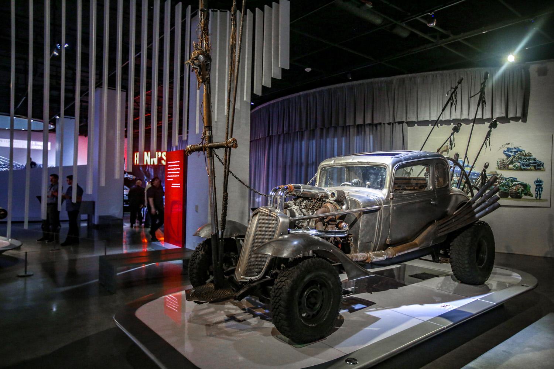 Mad Max: Fury Road Nux's car