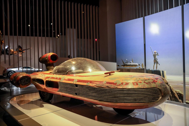 Landspeeder X-34, Star Wars: A New Hope