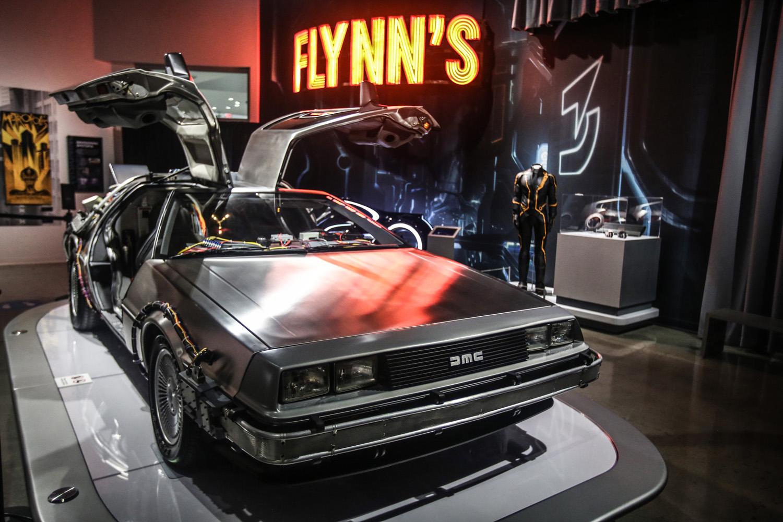 DeLorean time machine, Back to the Future trilogy