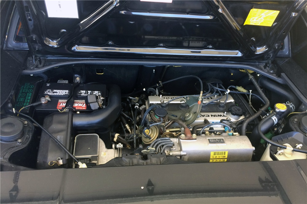 1986 Toyota MR2 engine