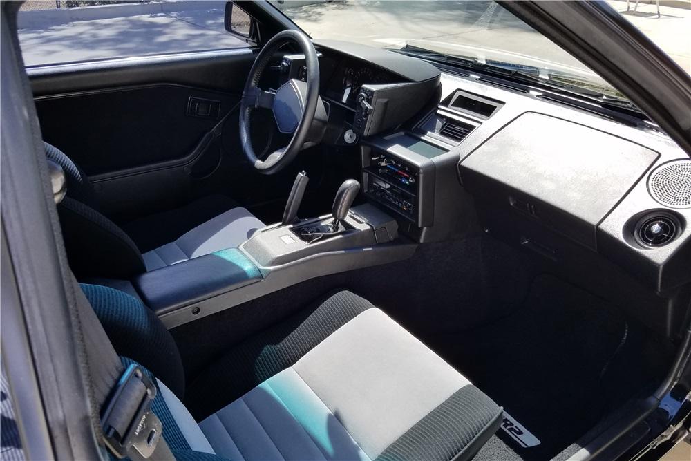 1986 Toyota MR2 interior