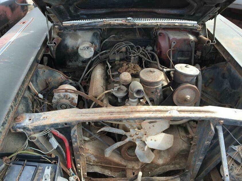 1958 Cadillac camper engine