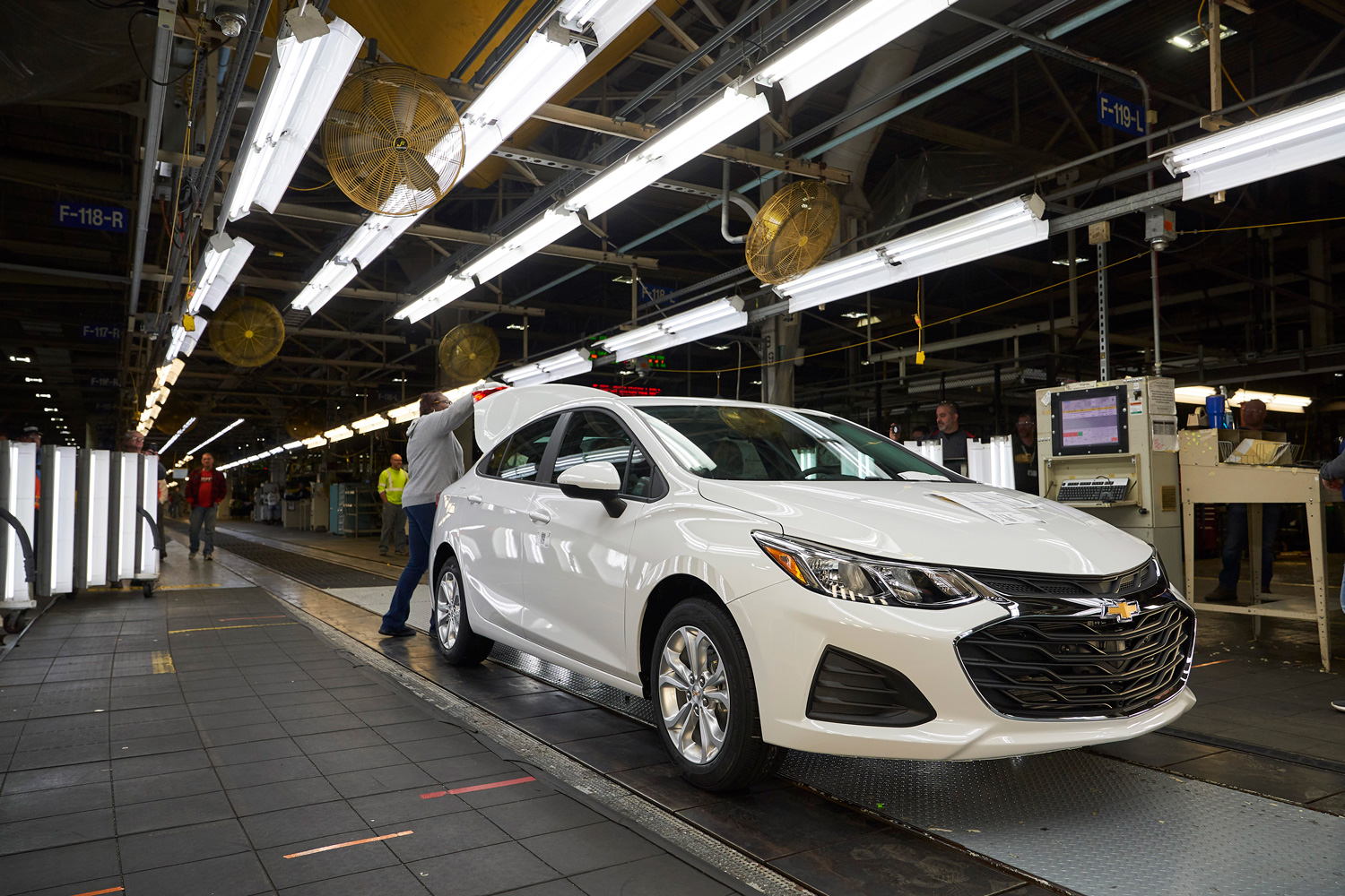 GM Lordstown Assembly Plant Chevy Cruze
