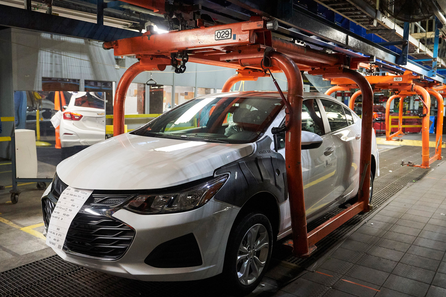 Chevy Cruze production