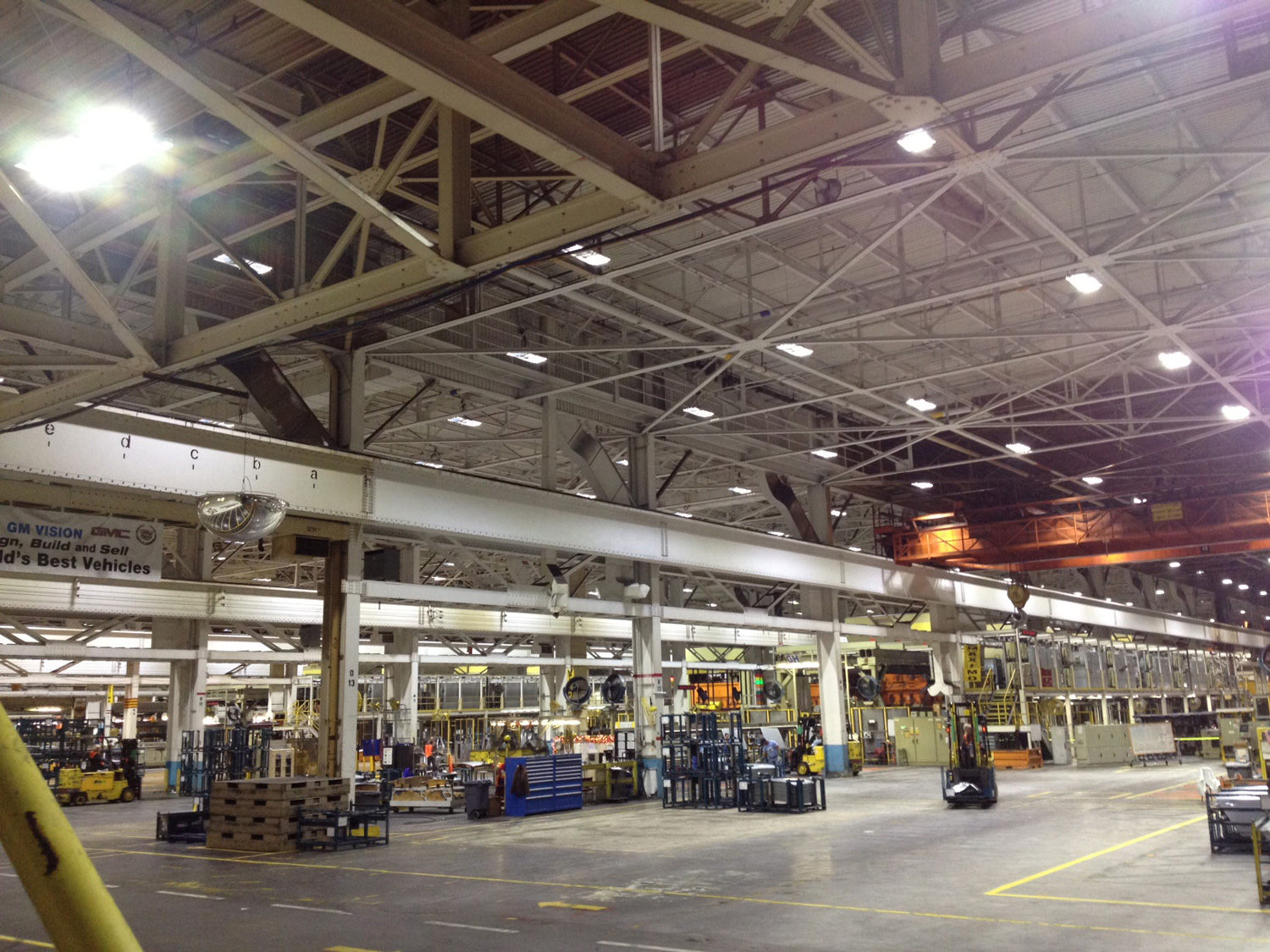 inside GM's Lordstown Assembly Plant
