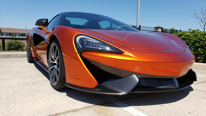 McLaren 570S Spider front 3/4