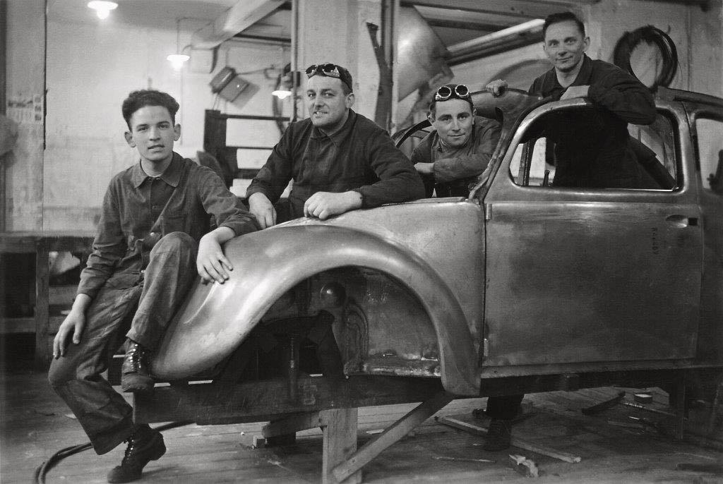 Volkswagen Prototype Reutter 1938 LR