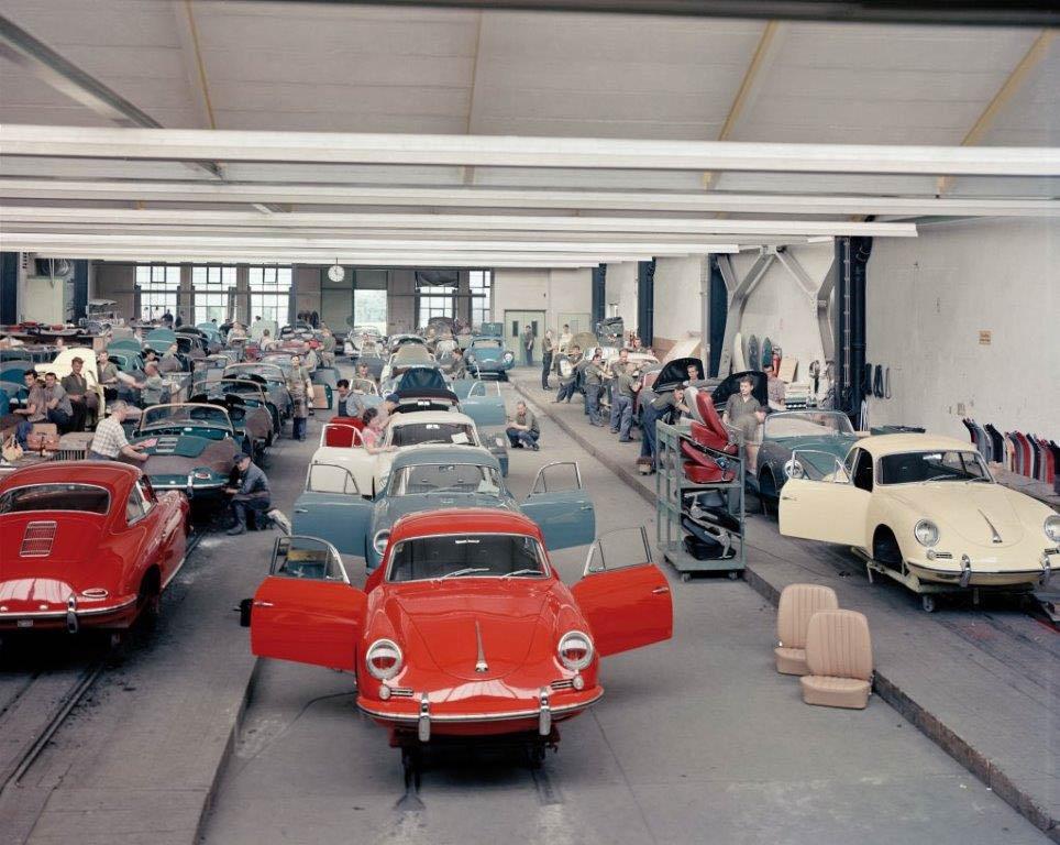 Reutter Serienproduktion Porsche 356 LR