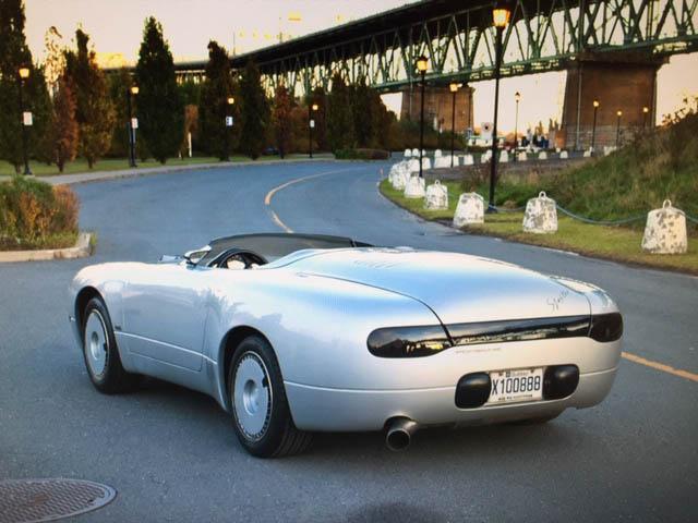 Porsche Spexter rear 3/4