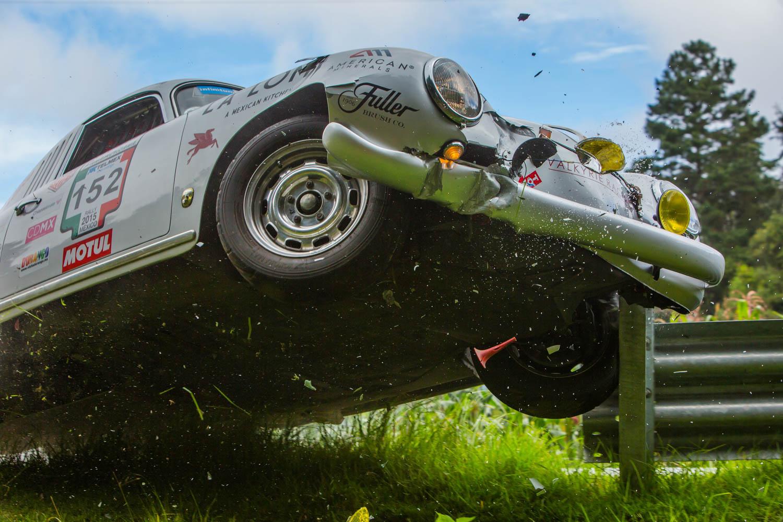 Porsche 356 crash