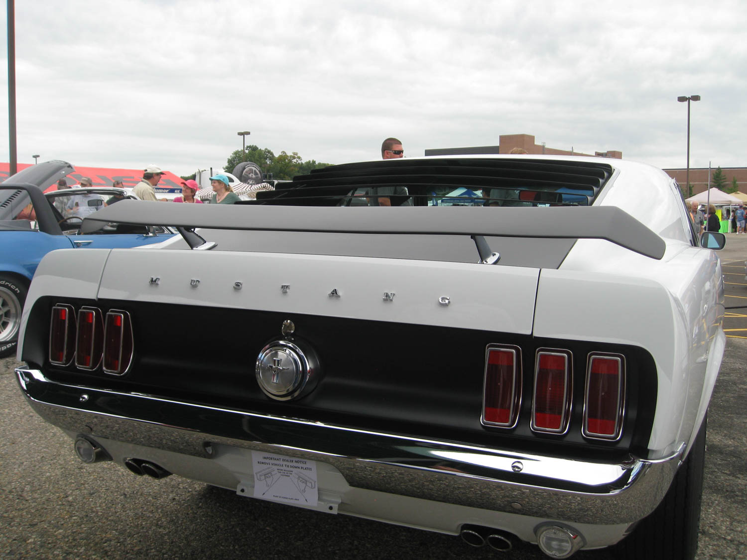 1969 Ford Mustang Boss Prototype tail lights