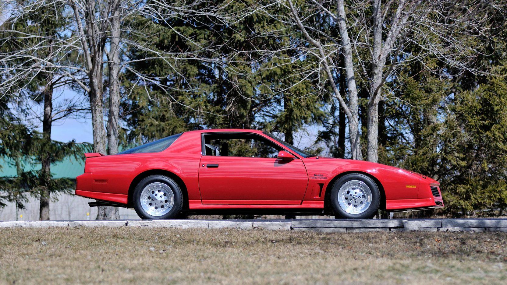 1982 Pontiac Trans Am profile