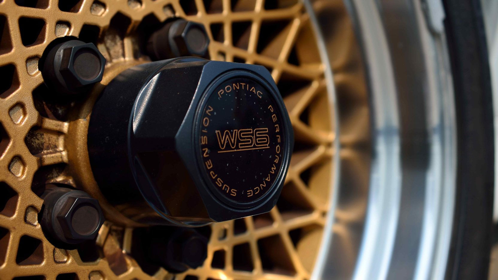 1991 Pontiac Trans Am wheel detail