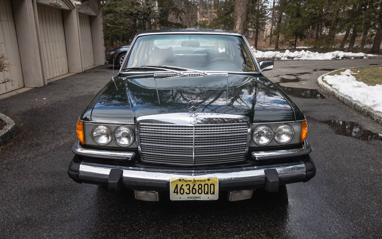 1974 Mercedes-Benz 450SEL front