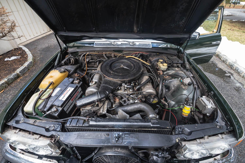 1974 Mercedes-Benz 450SEL engine