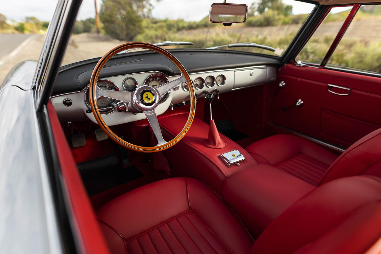 1962 Ferrari 250 GT SWB Berlinetta interior