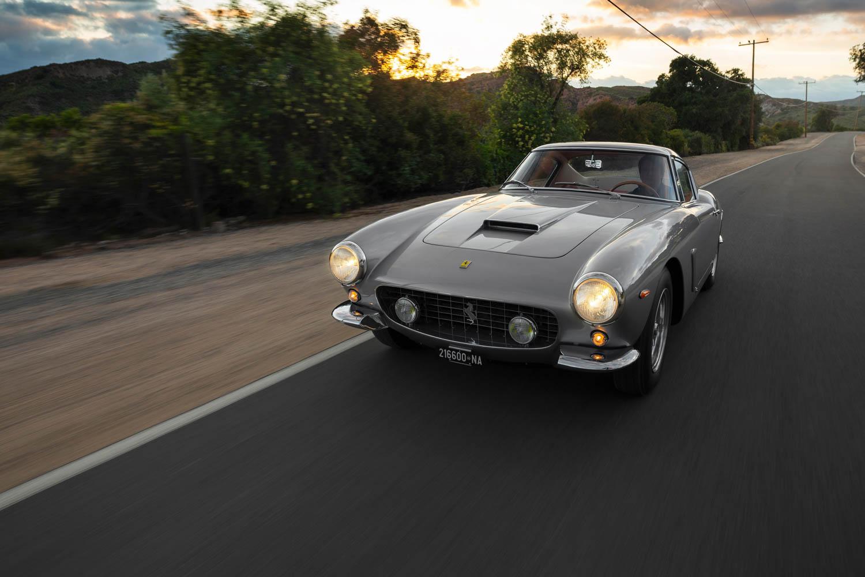 1962 Ferrari 250 GT SWB Berlinetta driving